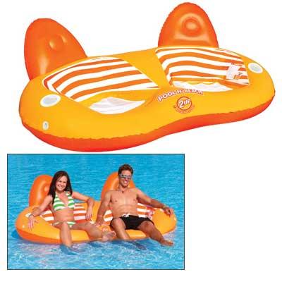 Sports Stuff Pool N Beach 2up Lounge Sale $54.99 SKU: 13566021 ID# 54-1982 UPC# 737826034390 :