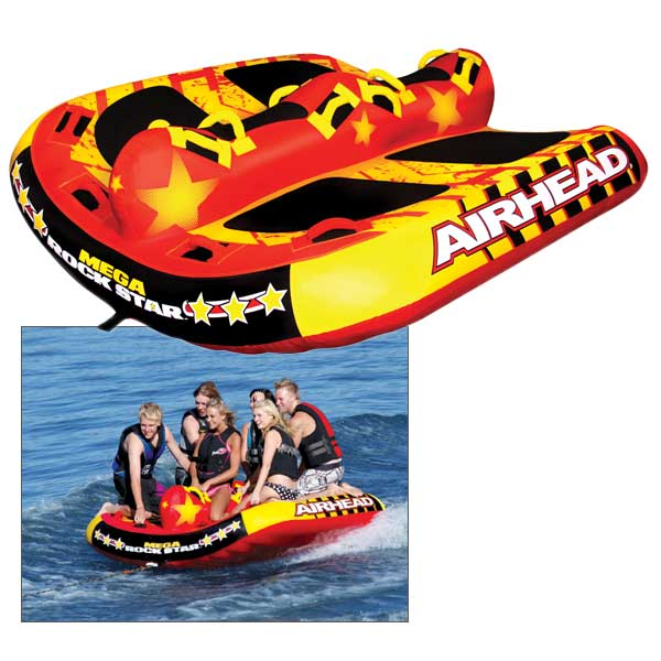 Airhead Mega Rock Star Tube Sale $254.99 SKU: 13566120 ID# AHRS-6 UPC# 737826028887 :