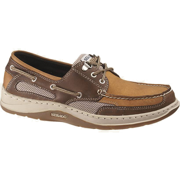 Sebago Men's Clovehitch II Boat Shoes, Dark Taupe/Dark Brown, 13M Brown Sale $115.00 SKU: 13593678 ID# B24351-440 UPC# 98772810507 :