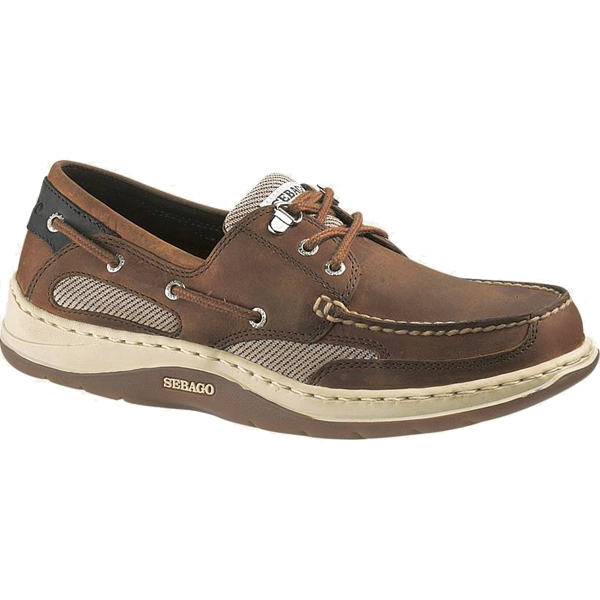 Men's Clovehitch II Boat Shoes, Walnut, 9M