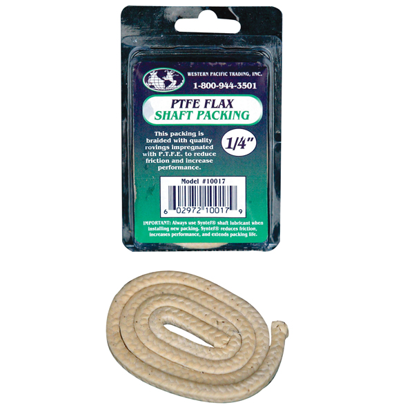 Western Pacific Trading 5/8'' Teflon Flax Packing, 2FT
