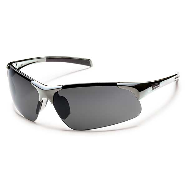 Suncloud Traverse Polarized Sunglasses, Silver Frames with Gray Lenses Sale $49.99 SKU: 13621578 ID# S-TVPPGYCH-3334 UPC# 715757399580 :