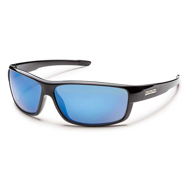 Suncloud Voucher Polarized Sunglasses, Black Frames with Black_blue Mirror Lenses Sale $49.99 SKU: 13621552 ID# S-VCPPUMBK-14 UPC# 715757400385 :