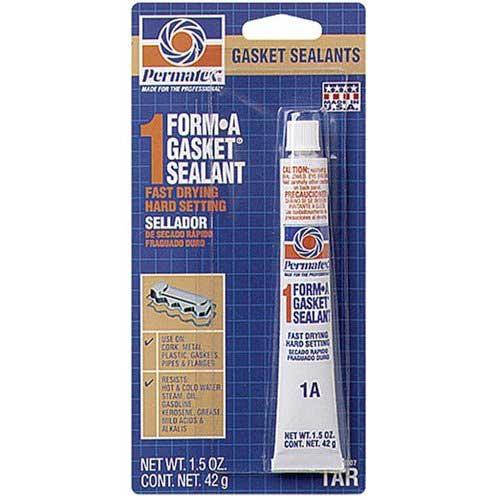 Permatex Form-A-Gasket No.1 Sealant, 1.5oz Sale $4.19 SKU: 13630470 ID# 80007 UPC# 686226800077 :