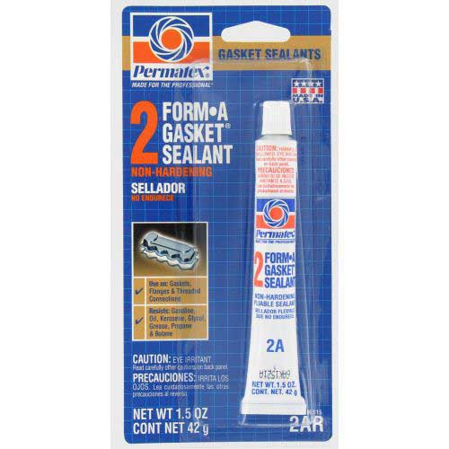 Permatex Form-A-Gasket No.2 Sealant, 1.5oz Sale $4.19 SKU: 13630496 ID# 80015 UPC# 686226800152 :