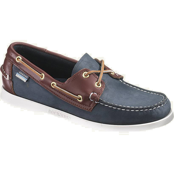 Sebago Men's Spinnaker Boat Shoes, Blue/brown/Brown, 12M