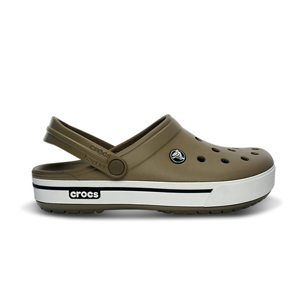 Crocs Men's Crocband II.5 Clog, Brown, 7