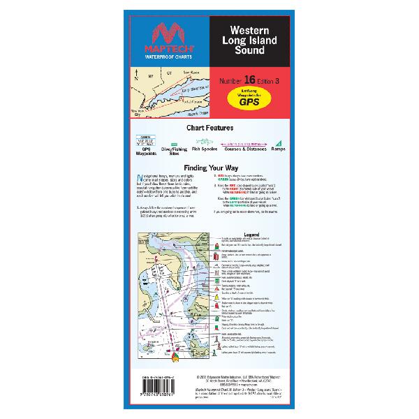 Maptech Western Long Island Sound Waterproof Chart, 3rd Edition Sale $21.95 SKU: 13741343 ID# WPC016-03 UPC# 9780743610964 :