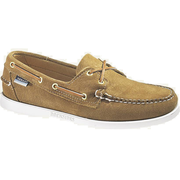 Men's Docksides Boat Shoes, Sand Suede, 7.5M