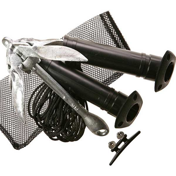 Yak Gear Kayak Rod Holder & Anchor Angler Kit