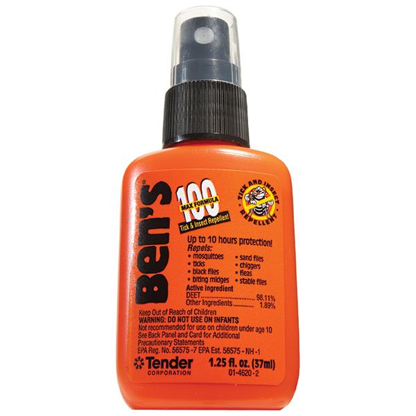 BENS Ben's 100 MAX Tick & Insect Repellent