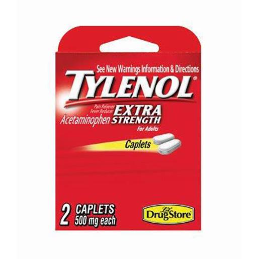Tylenol Extra Strength Single Dose Caplets