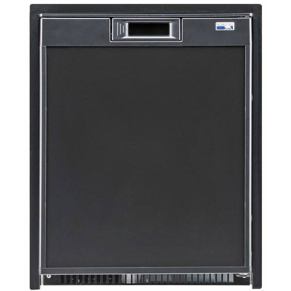 Norcold Universal Voltage Marine Refrigerator, Black, 2 Cubic ft.