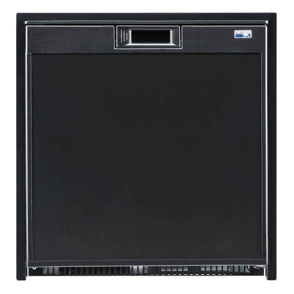 Universal Voltage Marine Refrigerator, Black, 2.7 cu.ft.