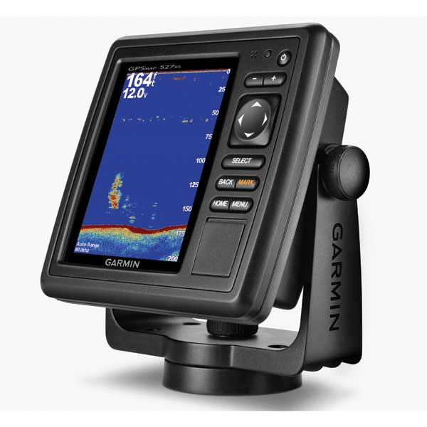 Garmin GPSMAP 527xs Fishfinder/GPS Combo, Worldwide Basemap, Transom Mount Transducer Included