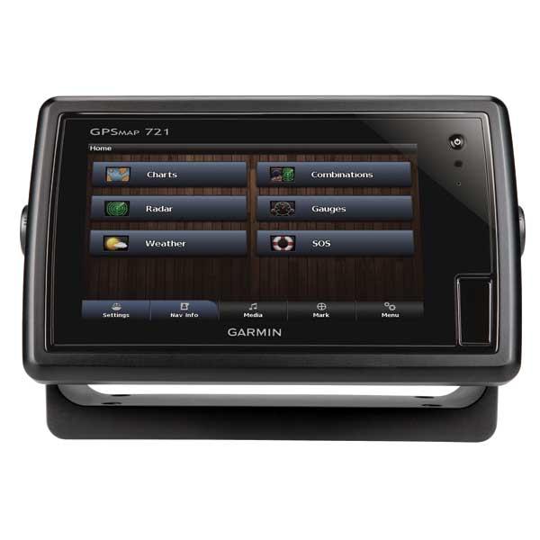 Garmin GPSMAP 721 Chartplotter with a 7 Touchscreen Display