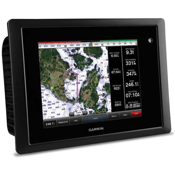 Garmin GPSMAP 8208 Glass Helm Multi-Function Display with US Coastal Charts
