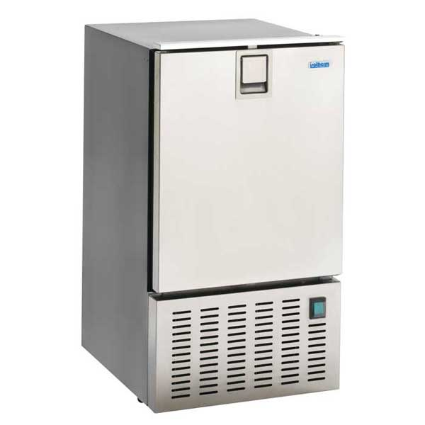 Indel Marine White Ice Maker, Stainless Steel Door