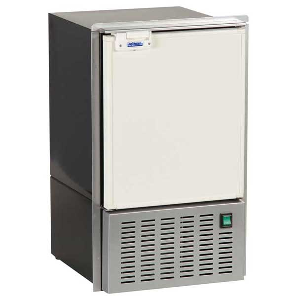 Indel Marine White Ice Maker, White Plastic Door