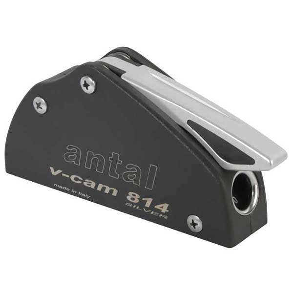Antal VCamS Rope Clutch, Single, Line Dia. 12-14mm, 2 x 8mm Fasteners