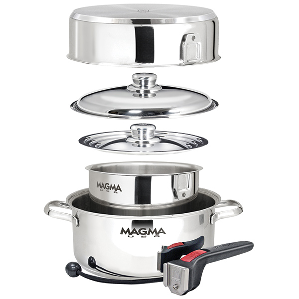 Magma 7-Piece Nesting Cookware, Stainless Steel Induction Sale $179.99 SKU: 14018683 ID# A10-362-IND UPC# 88379108770 :