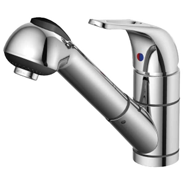 Ambassador Marine Stasis Small Pull-Out Galley Faucet Sale $254.99 SKU: 14043814 ID# 133-0112-CP UPC# 41031721755 :