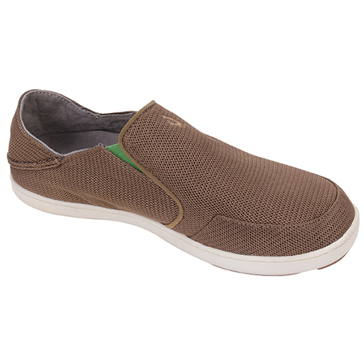 Olukai Mens Nohea Mesh Shoes Brown