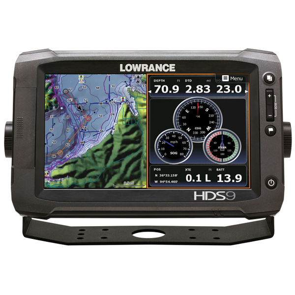 Lowrance HDS-9 Gen2 Touch Fishfinder / Chartplotter without Transducer