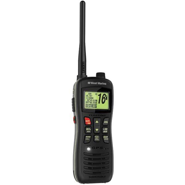 West Marine VHF460 Floating Class D GPS/Handheld VHF Radio