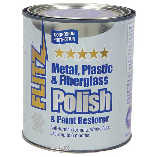 Metal Polish, Cream Paste