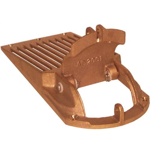Groco 2 Max. Thru-Hull Size Strainer, 1.63H x 4.38W x 10.25L