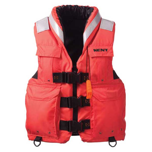 Kent Search & Rescue Commercial Life Vest, Large, Chest Size 40-44
