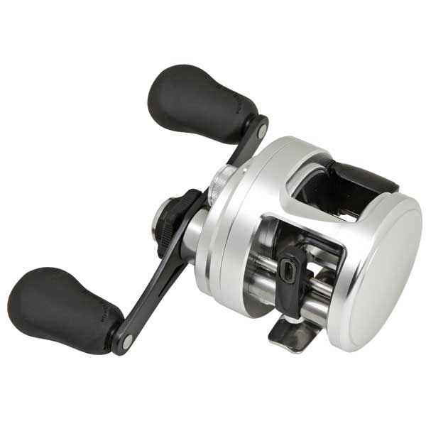 Calcutta 200 D Baitcasting Reel, Right, 11 lb. Drag, 4+1 BB, 5.7:1 Gear Ratio, 25