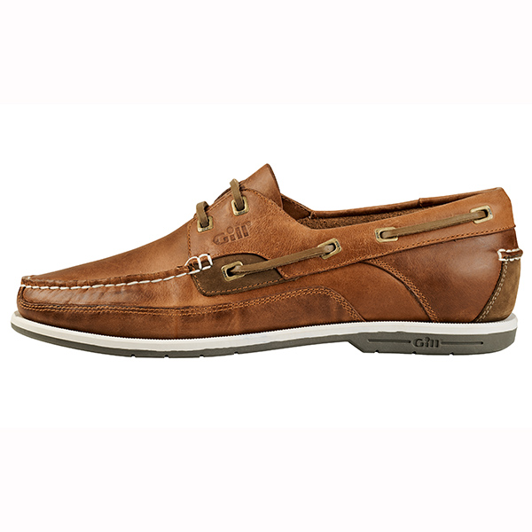 Gill Men's Baltimore 2-eye Deck Shoes, Brown, 12
