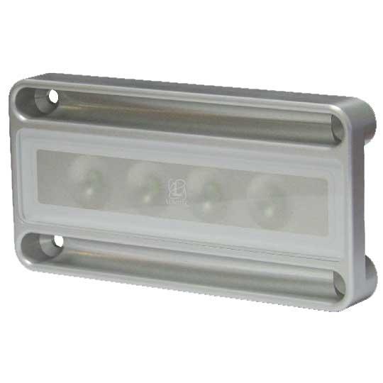 Lumitec Lighting Nevis - Engine Room Light, Brushed, White, CRI 70-75, CCT 6350, 10-30vDC, 900mA, 450mA