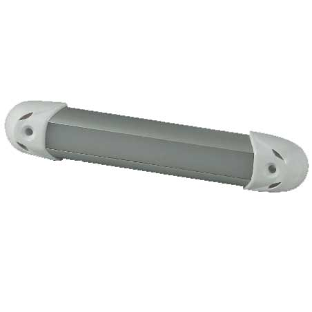 Lumitec Lighting MiniRail2 Interior Light, Brushed Finish, White