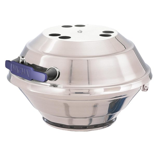 Magma Products, Inc. Marine Kettle Gas Grill with Hinged Lid, Type 2 Valve, Original Size, CE/International