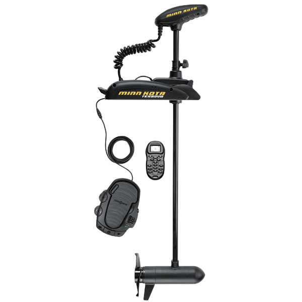Minn Kota Terrova 55/US2 with i-Pilot Freshwater Bow-Mount Trolling Motor, 55 lb. Thrust, 54Shaft, 12V Sale $1549.99 SKU: 14124622 ID# 1358855 UPC# 29402038138 :