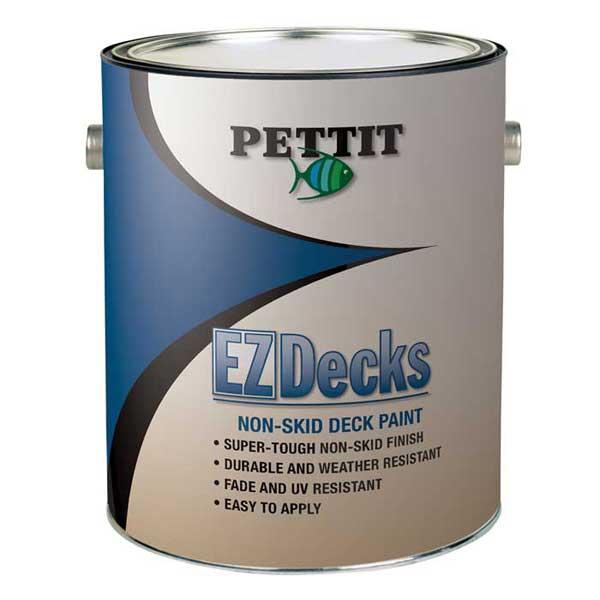 Pettit Paints EZDecks Non-Skid Deck Paint, Off-White, Gallon