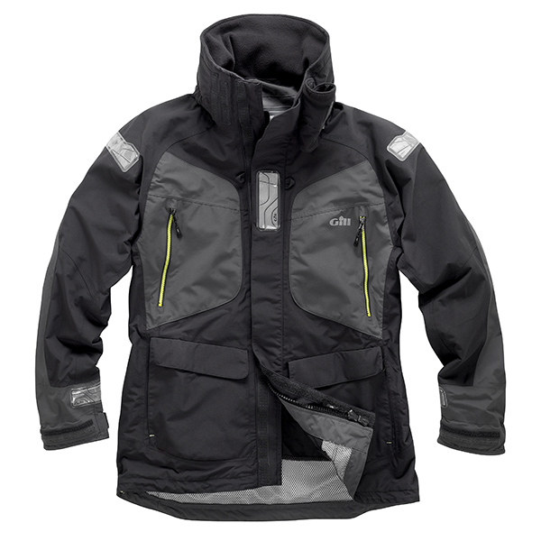 Gill Men's OS2 Offshore/Coastal Jacket Gray