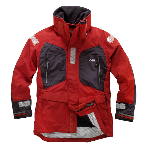 Gill Men's OS2 Offshore/Coastal Jacket Red