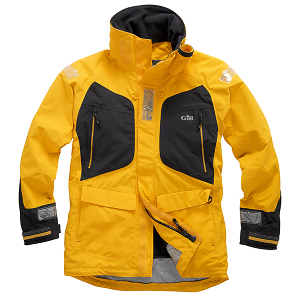 Gill Men's OS2 Offshore/Coastal Jacket Yellow