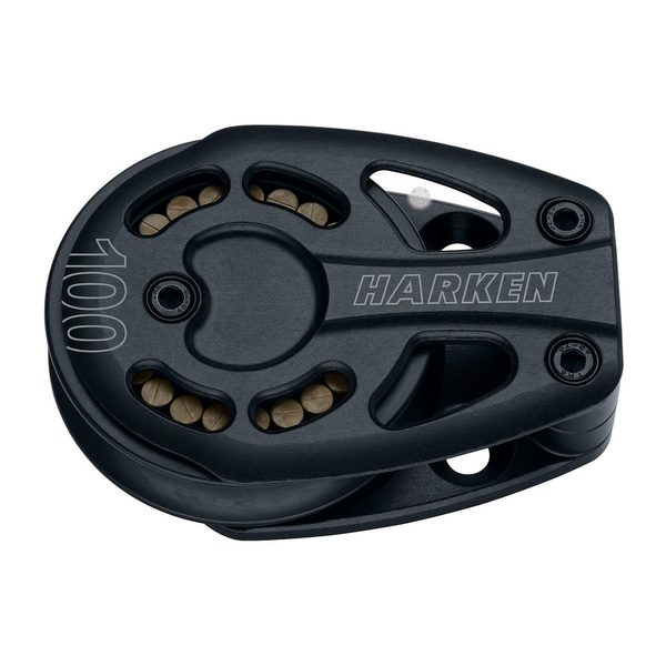 Harken 100mm Black Magic, Single Footblock