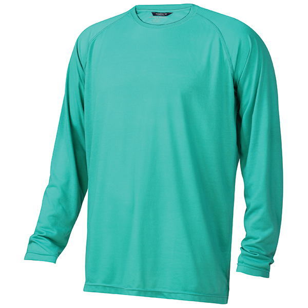 Men's Admiral Long-Sleeve Tee, Peacock, M