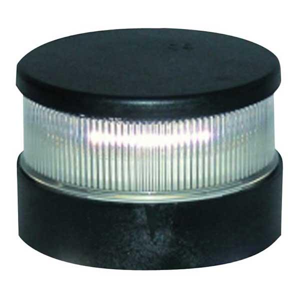 Aqua Signal Series 34 LED Navigation Light, All Round White, Black Housing