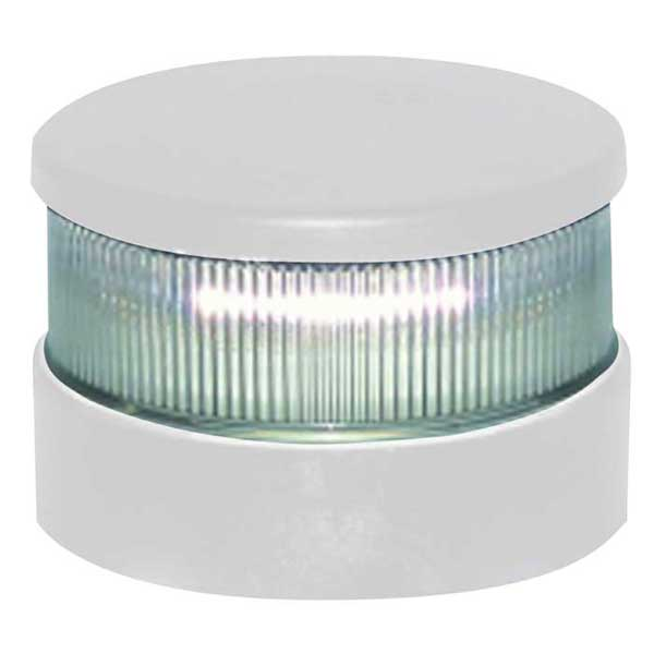 Aqua Signal Series 34 LED Navigation Light, All Round White, White Housing