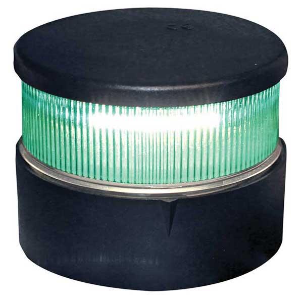 Aqua Signal Series 34 LED Navigation Light, All Round Green, Black Housing