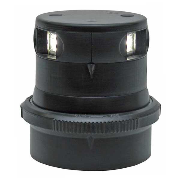 Aqua Signal Series 34 LED Navigation Light, Masthead White, Black Housing