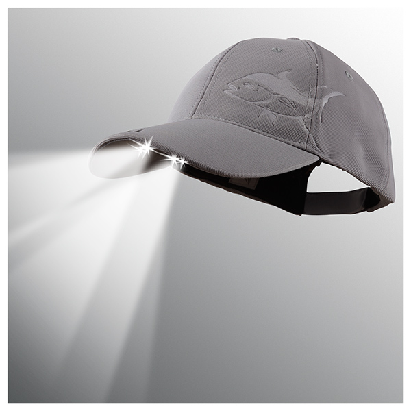 Panther Vision Powercap LED Lighted Hat, Grey Tuna Gray