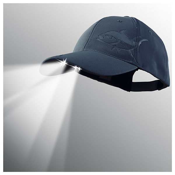 Panther Vision Powercap LED Lighted Hat, Navy Tuna Navy